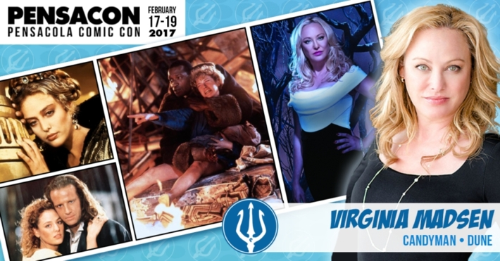 Virginia Madsen attends Pensacon 2017!