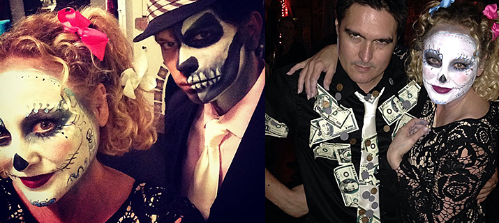 Virginia Madsen posts Halloween photos on her Instagram!