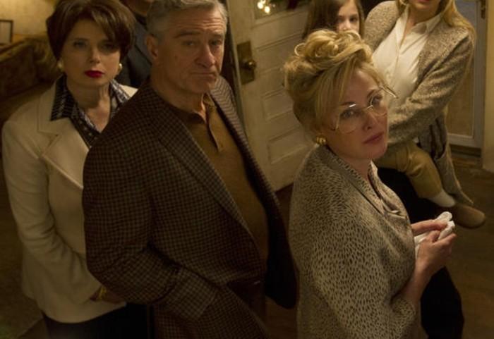 Virginia Madsen on working With Robert De Niro in JOY