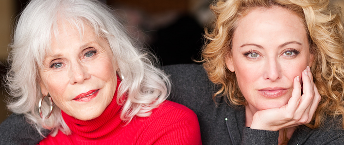Virginia Madsen & her mom Elaine on feeling lucky to grow older!