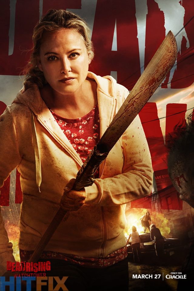 """New Poster of """"Dead Rising: Watchtower"""" with Virginia Madsen"""